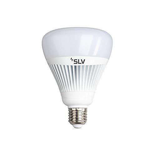 SLV PLAY Smart LED-Leuchtmittel WLAN, Dimmbare LED Glüh-Birne E27, Warmweiß bis Tageslicht, 15W ersetzt 75 Watt, Ohne Hub nutzbar, Wifi, Kompatibel mit Alexa und Google Home, 1055 Lumen, CCT