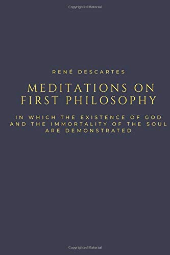 René Descartes Meditations on First Philosophy: with 1.7-inch Ruled Margin for note taking