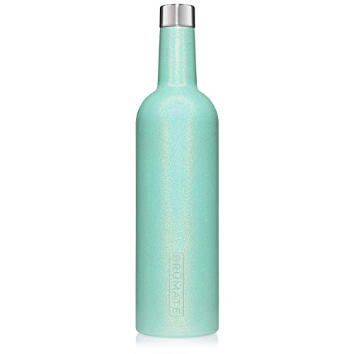 BrüMate Winesulator 25 Oz Triple-Walled Insulated Wine Canteen Made Of Stainless Steel