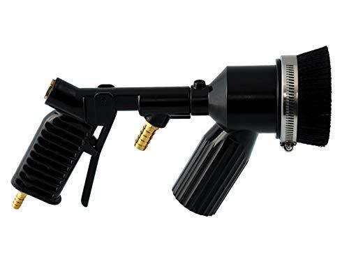 Druckluft-Sandstrahlpistole mit Bürste mit Rückgewinnung Sandstrahlgerät Sandstrahlen