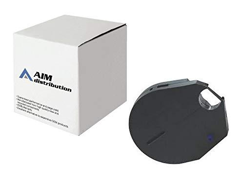 Price comparison product image AIM Compatible Replacement for Maverick IV / 420 / 425 MICR Financial Black Printer Ribbons (6 / PK) (39-4920-01) - Generic