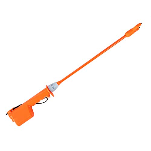 Livestock Prod Electric Cattle Prod Batteries-Operated, Stock Prod Stick for Sheep Cow Pig Cattle and Big Dog, Orange (35 Inches)