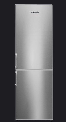 SanGiorgio SC36SX Libera installazione 321L A+ Acciaio inossidabile frigorifero con congelatore