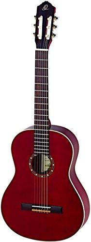 Guitarra clásica adecuado para personas zurdos Tapa de pícea satinada y mástil de caoba Fondo y aros de caoba Diapasón y puente de nogal Clavijas de afinación chapadas en cromo