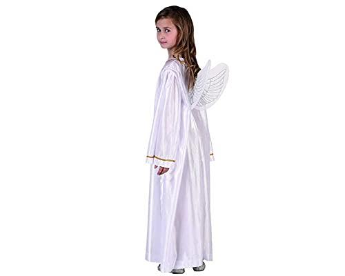 ATOSA disfraz angel blanco niña infantil navideño 10 a 12 años