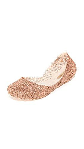 Melissa Women's Campana Papel VII Ballet Flat, Beige Pink, 7 M US