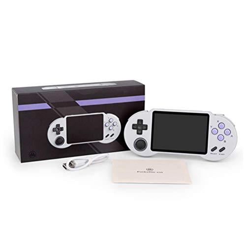 Consola de juegos de mano, sistema de código abierto S30, 3.5 pulgadas IPS pantalla videojuegos portátil consola de mano para regalo de cumpleaños de niños 32G/64G/128G