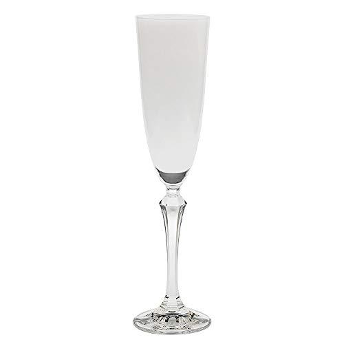 Jogo com 6 Taças para Champagne BOHEMIA Transparente