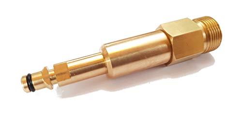 Alpenversand24 Quick-Click Adapter 9mm / M22 x 1,5 passend für Kärcher Aldi Hochdruckreiniger mit Quick Click Schnellkupplung A3