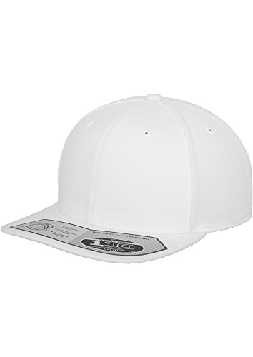 Flexfit – 110 Fitted Snapback Casquette (White)
