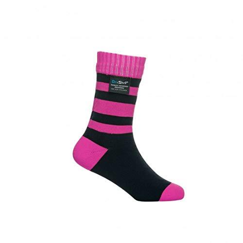 Dexshell Kinder Smart Socken M rosa streifen