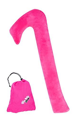 Das Ultimative Reisekissen & Nackenkissen von by My Side - 7 Shape Seitenschläferkissen (Pink)