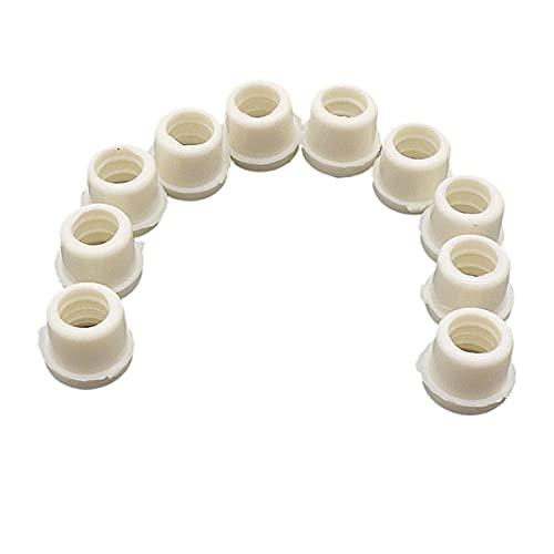 JiaxianGu3Je Junta de válvula de Aire Acondicionado 50 unids Coche A/C Aire Acondicionado Recarga de Recarga Líquido Alimentación Tubo Adaptador Sellos Juntas de Oarmeta Fácil de reemplazar