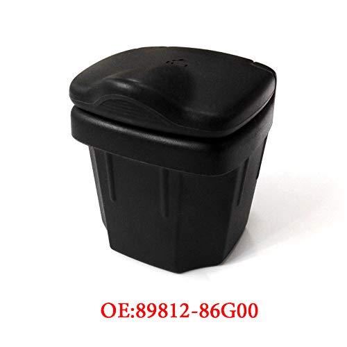 Preisvergleich Produktbild Schwarz Auto Aschenbecher Mülleimer Lager Ascheboxen Auto Innenzubehör für Vitara Alto Sx4 Swift S-CROSS 2010-2016 (Schwarz)