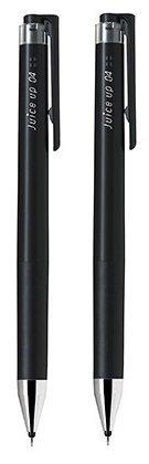 パイロット ノック式 ゲルインキボールペン ジュースアップ 黒インク 0.4 2本