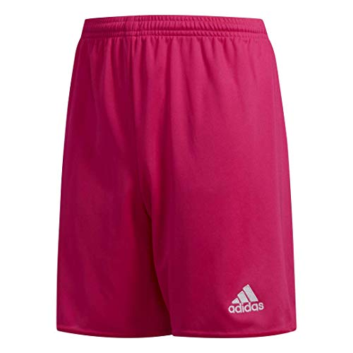 adidas Boys' Parma 16 Shorts, Shock Pink/White, X-Large