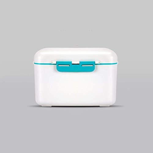 Busirsiz Hogar Multi-Capa de Caja de la Medicina de Gran Capacidad de Almacenamiento Caja de Caja de la Medicina Medicina Pecho Primeros Auxilios 29,8 × 22,5 × 19 cm