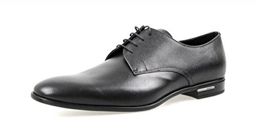 Prada Herren Schwarz Saffiano Leder Business Schuhe 2EC030 053 F0002 44.5 EU/UK 10.5