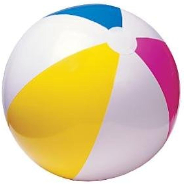 Rhode Island Novelty Toys Rhode Island Novelty 12 Beach Ball Inflates  Approx. 16   New INBEACH, orange, bluee, White, Pink, Rainbow