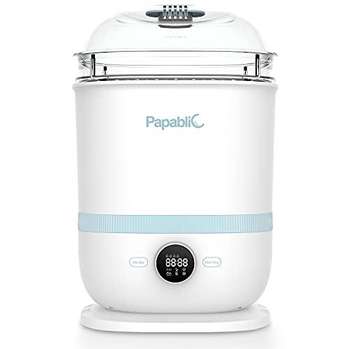 Papablic 6-in-1 Baby Bottle Sterilizer and Dryer Pro