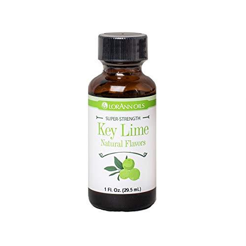 LorAnn Key Lime Super StrengthFlavor, 1 ounce bottle