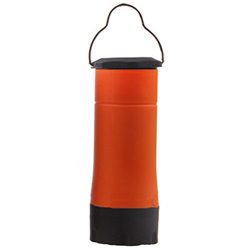 Lumineux Portable multifonction LED Lanterne de camping Orange