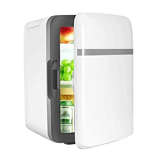 Byjia Mini Refrigerador para Automóvil, 10L De Gran Capacidad, Almacenamiento De Maquillaje Más Cálido Y Frío, Doble Uso para Automóvil/Hogar