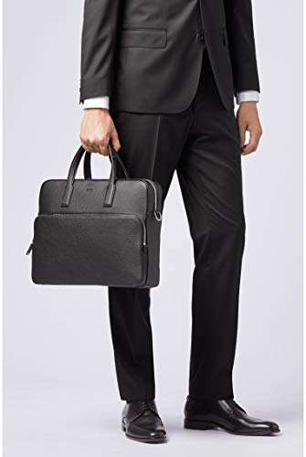 BOSS - Crosstown_s Doc Case, Bolsas para portátil Hombre, Negro (Black), 8.5x30x38 cm (B x H T) 4