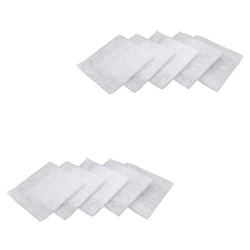 vhbw 10x Filtres à poussière pour ventilateur Maico ERA 17, ERU 17