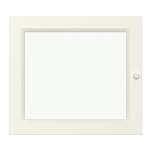 Ikea OXBERG Vitrinentür in weiß; (40x35cm)