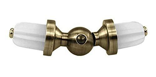 Sento 25mm Messing Antik Zusammenstellung Gardinenstangen Erstellen Vorhangstange Eckverbinder 25mm
