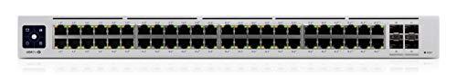 Ubiquiti USW-PRO-48-POE UniFi-Switch, Gen2, 8X PoE ++, 48x Gigabit LAN, 660W, 4X SFP+