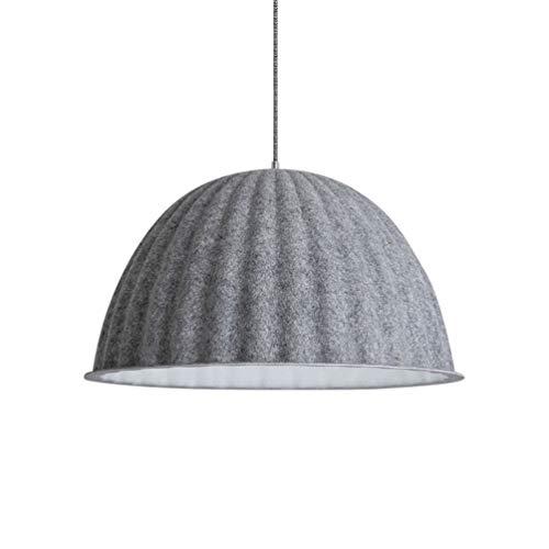 Vintage Pendelleuchte Beleuchtung, Runde Esstisch Lampe Hängeleuchte, Verstellbare kreative Filz...