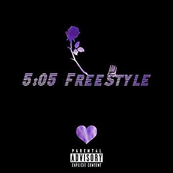 5:05 Freestyle