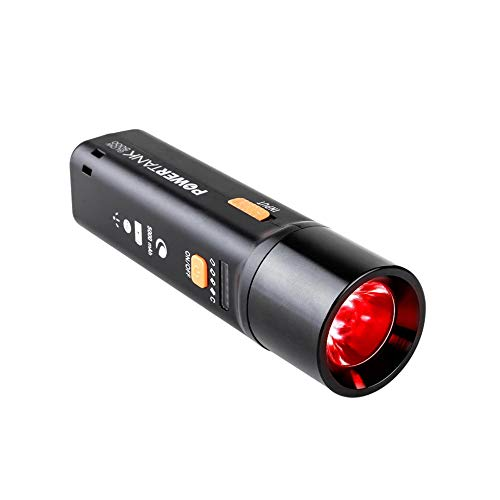 Celestron - PowerTank Glow 5000 - Portable USB Rechargeable Power Bank + Red Flashlight - 5000 mAh Capacity – The Best Astronomy Flashlight - Must-Have 2-in-1 Accessory for Amateur Astronomers