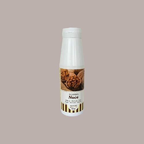 1 Kg Topping Salsa Guarnizione al Gusto NOCE LEAGEL Alta Qualità per Decorare Gelato Yogurt Dolci Torte Semifreddi