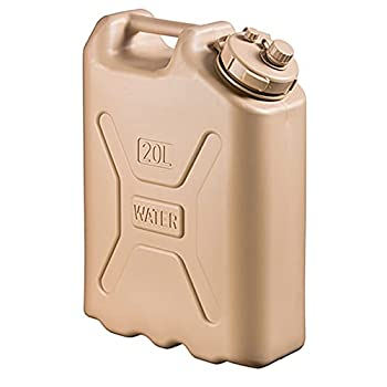 Scepter 05935 Military Water Container - 5 Gallon  20 Litre  AM Sand