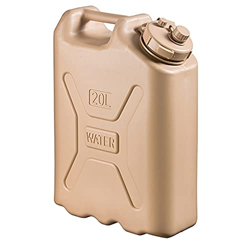 Scepter 05935 Military Water Container - 5 Gallon (20 Litre), AM Sand