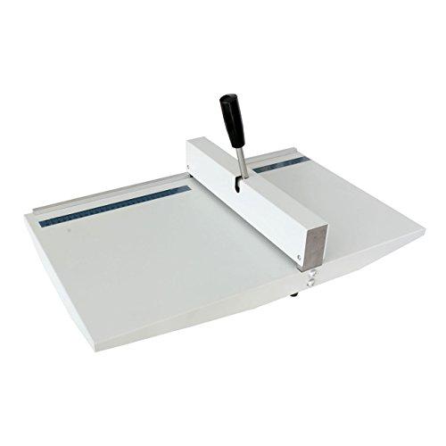 Creasing Machine Tool A5 A4 A3, upto 30g-450g, Card Paper Manual Creaser SRA3, [Importado de UK]