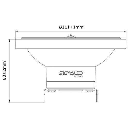Sigmaled lighting AR111-145330-S