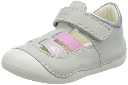 Geox Mädchen B TUTIM A Sandalen, Weiß (White/Pink C0406), 23 EU