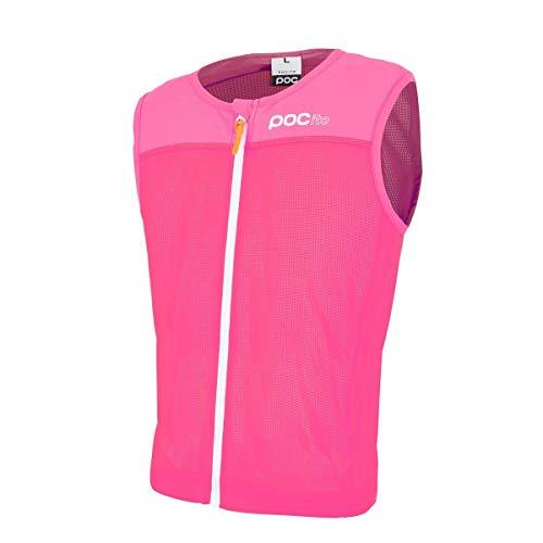 POC Protektor Pocito VPD Spine Vest, Erwachsene Unisex, Rosa (Fluorescent Pink) , L
