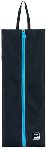 Schuhorganisator/Schuhe Aufbewahrungstasche Travel Wasserdichtes Slipper Kugel Schuhe Tasche Fitness-Basketball-Schuh-Speicher-Beutel 25 * 35cm (Color : Blue)