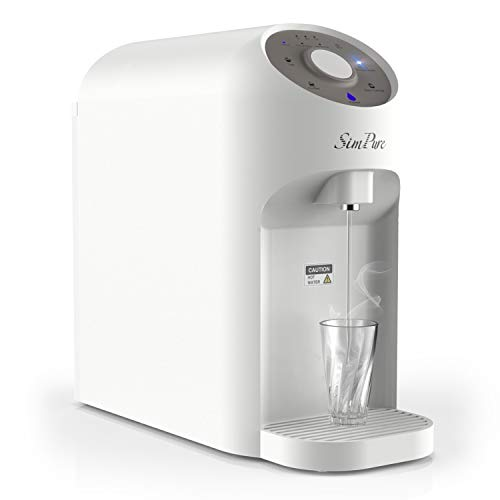 SimPure Y5 Countertop Water Filtration System, Reverse Osmosis Water Filter (Gray)
