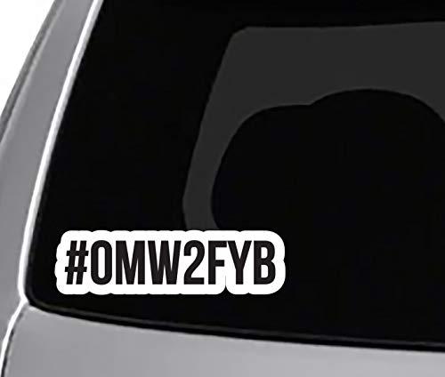 #OMW2FYB CAR Truck Window Bumper Sticker Boost Low Euro Illest JDM KDM Funny
