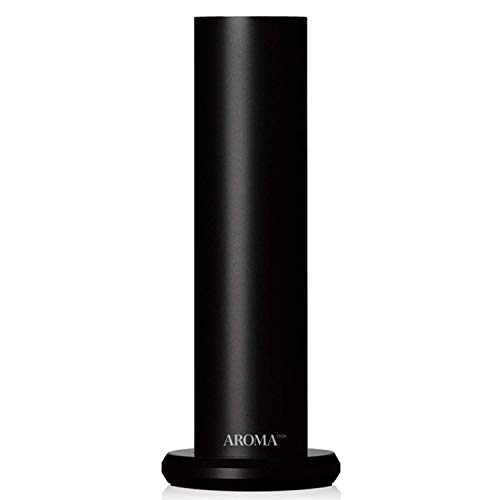 AromaTech AroMini BT Bluetooth Essential Oil Diffuser for Aromatherapy Oils, Nebulizing Diffusion System, Fragrance Diffuser, Cold-Air Diffusion Scent Machine for Spa, Home, Office - Black