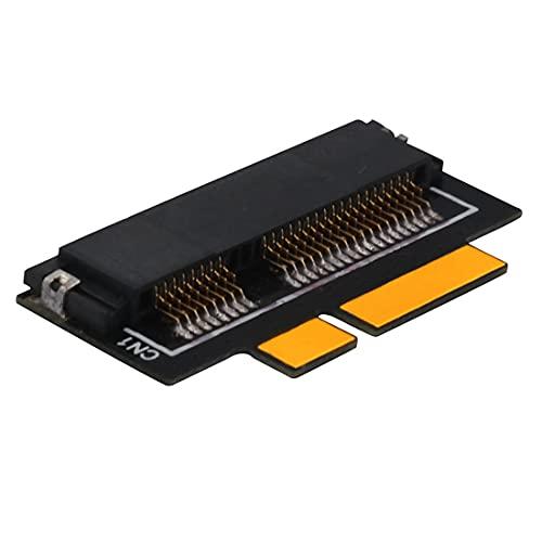 JMT MSATA SSD a 7+17 Pin Tarjeta Adaptador SSD Convertidor Tarjeta Compatible para MacBook Pro 2012 Retina A1398 A1425 SSD