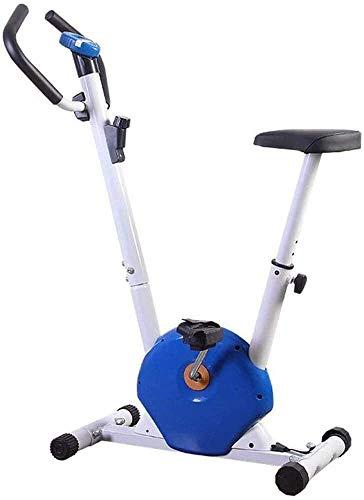 2 en 1 plegable Bicicleta estática, bicicleta estacionaria con cubierta magnética ajustable Resistencia Inicio bicicleta de spinning de control magnético ultra silencioso deportes de interior pedal de