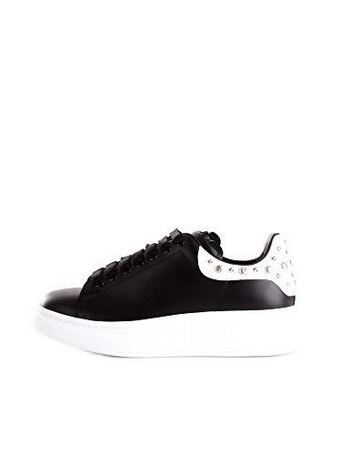 Alexander McQueen 553776WHGP Sneakers Basse Uomo Nero 43