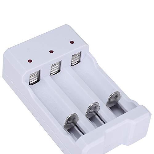 CENYAFAN USB de 4 Ranuras rápidamente de Carga Protección del Circuito Cargador de batería Corto AAA y AA batería Recargable estación Herramienta de Montaje de Piezas RC